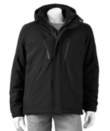 ZeroXposur Thermx Ringer 4-Way Stretch Hooded Jacket Coat Mens  - $129.98