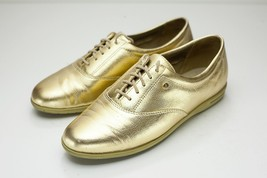 Easy Spirit 7.5 Gold Lace Up Women's - $44.00