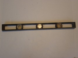 "EXACT HANDY LEVEL  HIGH BRIDGE NJ VINTAGE ANTIQUE METAL CARPENTRY LEVEL 24"" - $29.69"
