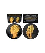BLACK RUTHENIUM 2-Sided 1916-1945 Original AU MERCURY SILVER DIME Coin 2... - $21.46