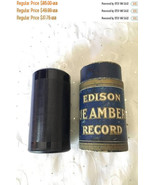 ON SALE Vintage Edison Blue Amberol 4 minute Cylinder Record 1587 Everyb... - $72.25