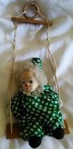 Vintage Clown on a Swing - $19.99
