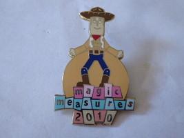 Disney Trading Pins 75650 DLR - Cast Member 2010 Magic Measures Woody - $46.75