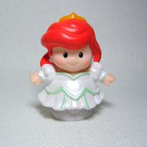 Fisher Price Little People ARIEL Bride Mermaid Disney Princess Songs & P... - $4.00