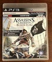 Assassin's Creed IV: Black Flag GameStop Edition PlayStation 3 PS3 - $6.32