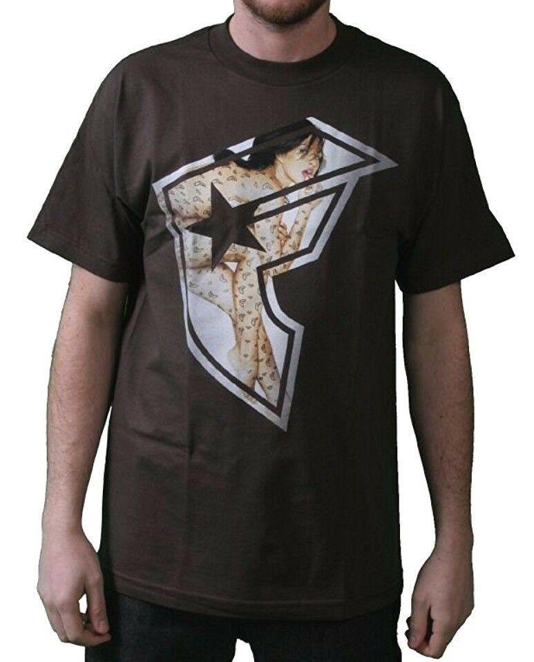 Famous Stars & Straps Hombre Chocolate Tf Boh Camiseta S 104484 Travis Blink182