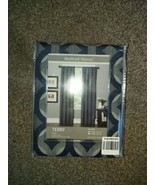 Bedford Manor Terry Navy Window Panels Energy Efficient NEW - $21.78