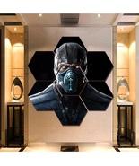 Sub Zero Wall Art Canvas Painting Poster Print Home Decor 7 Hexagon Pane... - $94.99+