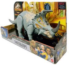 Jurassic World Sinoceratops CAMP CRETACEOUS Sound Strike Primal Attack D... - $46.54