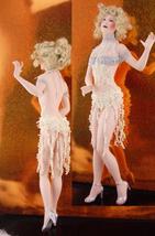 "Signed Flapper Doll / Vintage 19"" porcelain doll / handpainted / white b... - $225.00"