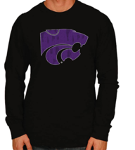Original Retro Brand NCAA Mens L/S Sleeve Tee Kansas State Wildcats Small NWT - $14.84