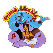 Aladdin + Genie Disney Lapel Pin: Magical Musical Moments Friend Like Me - $21.90