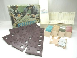 Vintage PROBE Board Game Parker Brothers Game Of Words 1964 No 200 60s U... - $21.26