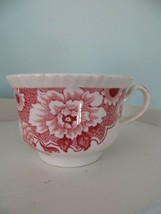 Vintage Cambridge Wood & Son Red Rose Tea Cup ~ Made in England - £7.60 GBP