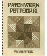 Vintage Patchwork Potpourri by Vivan Ritter - $6.98