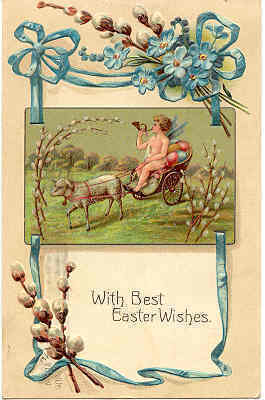 Easter Wishes Paul Finkenrathof Berlin 1911 Post Card