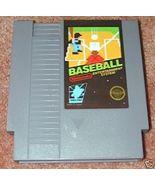BASEBALL Vintage NES game +FREE SIGNED Trading CARD! - $11.99