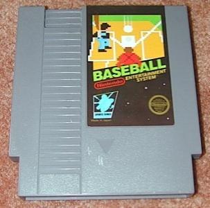 BASEBALL Vintage NES game +FREE SIGNED Trading CARD!