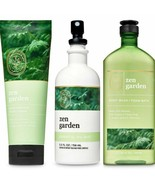 New Bath & Body Works Aromatherapy Zen Garden 3 Pc Set - $32.71