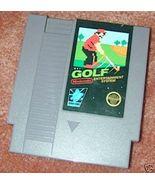 NINTENDO GOLF Vintage NES game+FREE SIGNED Trading CARD - $11.99