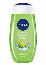 Nivea Care Shower Gel, Lemon and Oil, Body Wash 250 ml free shipping worldwide - $14.84