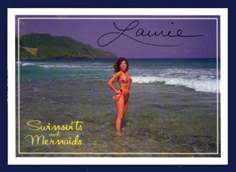 Autographed LORI #7 Swimsuit & Mermaids card Hot~Sexy~!