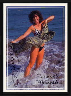 Autographed LORI #3 Swimsuit & Mermaids card Hot~Sexy~!