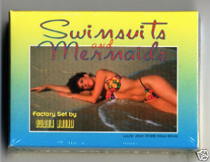 SWIMSUITS & MERMAIDS sealed Factory Box + Rare Promos