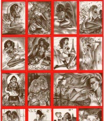 Paresi's Fantasy VAMPIRES & VIXENS w/all CHASE cards !