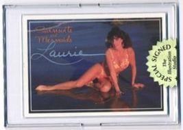 Autographed LORI Swimsuit & Mermaids bikini card~Sexy - $9.96