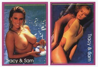 SAMANTHA FOX & TRACI LORDS cards '92-U Dont Have These!