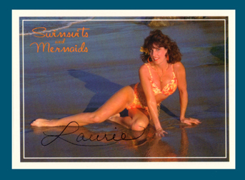 Autographed LORI #6 Swimsuit & Mermaids card Hot~Sexy~!