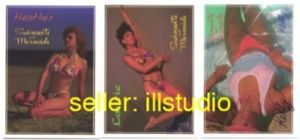 SWIMSUITS & MERMAIDS 3 MAIL-IN Specialty Cards~SIGNED~!