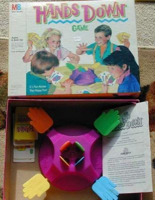 Classic! HANDS DOWN Game~Ages 6,7,8,9,10~Kids Luv it!