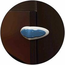 Safe-O-Kid - Pack of 8, Durable, Elegant 100% Kid Safe Drawer Lock- Blue - $41.16