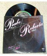 "1983 Peabo Bryson/Roberta Flack ""TONIGHT"" 45 RPM~Vinyl - $14.80"