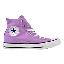Converse Chuck Taylor All Star High Top Big Kid's Shoes Fuchsia Glow 155... - $59.95