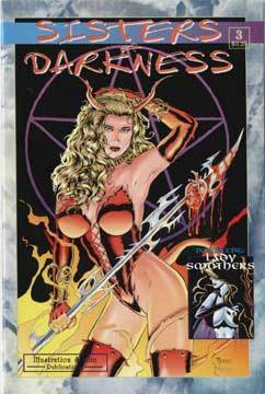 SIGNED 2 TIMES Paresi's SISTERS of DARKNESS #3 + Print!