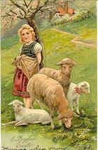 A Joyful Easter Paul Finkenrath of Berlin 1937 Post Card - $7.00