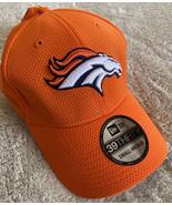 NEW 39thirty New Era Denver Broncos Football Orange Fitted Hat Small-Medium - $19.35