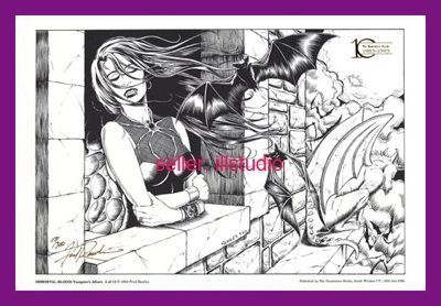 Vampire IMMORTAL BLOOD #4 of 8 Signed & Numbered Gold
