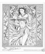 ZEPHYR~1993 Fantasy Art SIGNED Print by Fred Rawles WOW - $9.99