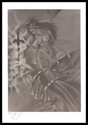 Woron Guinevere & Excalibur Signed & Numbered Fantas