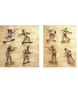 4 Large Play Set Toy Soldiers Vintage Marx toy soldiers - $34.99