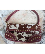 Gianni Bini Leather and Cowhide Purse - $29.00