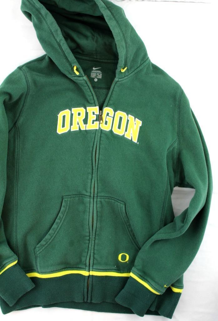 Nike sz XL Green Front Zip Oregon Hooded and 50 similar items 378b0f0db