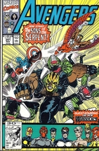 (CB-1} 1992 Marvel Comic Book: Avengers #355 - $2.00