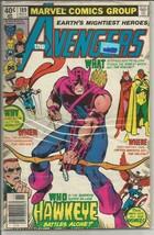 Avengers #189 JOHN BYRNE Marvel Comics 1979 1st series & print - $12.82