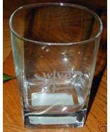 """UNUSUAL-""""WLVP 30th Anniversary"""" etched rocks glass~NEW! - $19.79"""