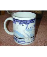 ALASKA Polar Bears with small CUB Mug~ Wow Very Nice! - $15.80